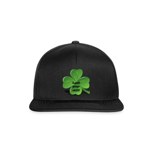 Luck over skill - Snapback-caps