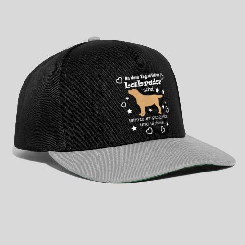 Gott schuf Labrador - Snapback Cap