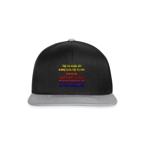 PaulasWahnsinn6 - Snapback Cap