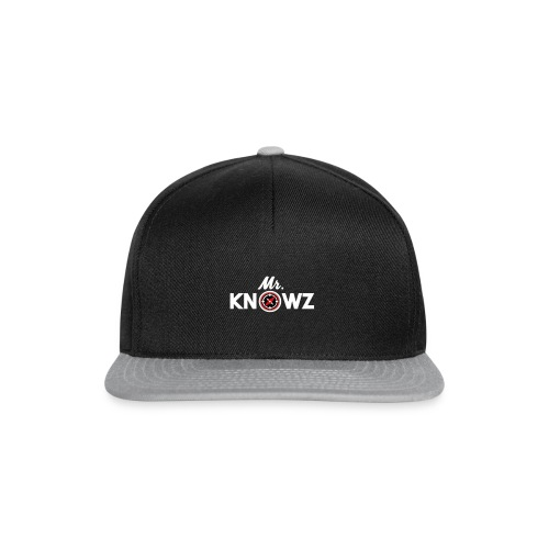 Mr Knowz merchandise_v1 - Snapback Cap