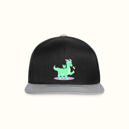 Animali fantasy kawaii - Drago Europeo - Snapback Cap