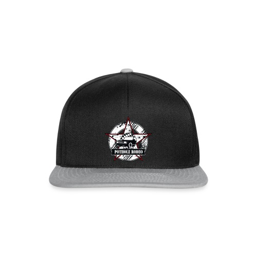 Logo Pothole Rodeo Splashes png - Snapback Cap