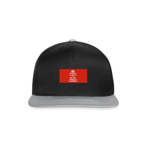 play does games - Snapback-caps
