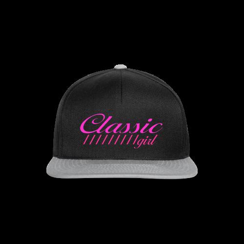 ClassicGirlPink - Snapback Cap