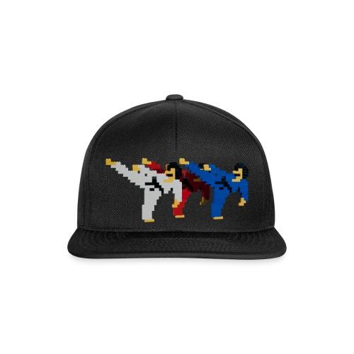 8 bit trip ninjas 2 - Snapback Cap