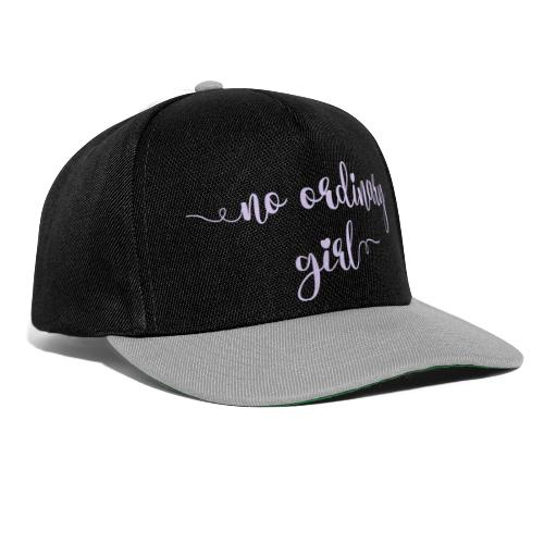 No Ordinary Girl - Snapback Cap