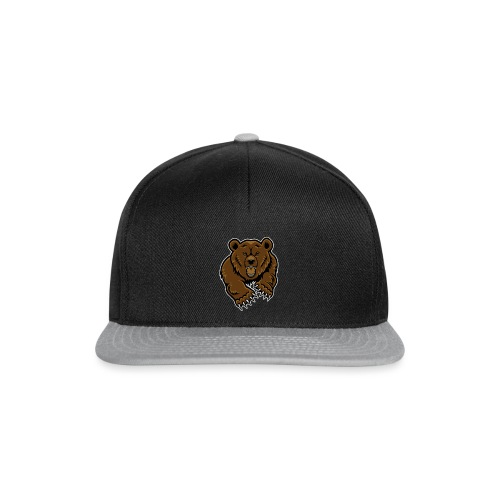 grizzly bear clip art 271767 png - Snapback Cap