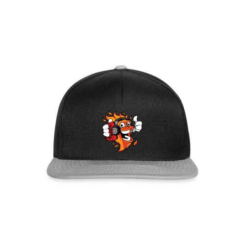 The Jumping Flame solo red BIGBIG png - Snapback Cap
