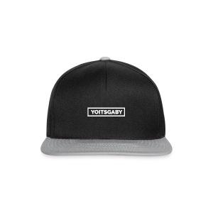 YoIsGaby T-Shirt Wit // man - Snapback cap