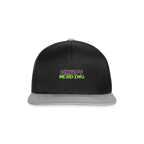 Logo heavy nerding - Snapback Cap