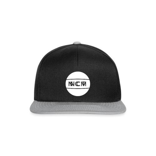 logo rund white - Snapback Cap