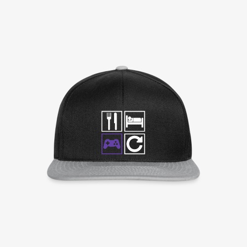 Eat, Sleep, Game, Repeat - Snapback Cap
