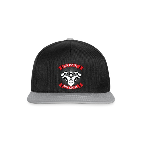 NO PAIN NO GAIN - Snapback Cap