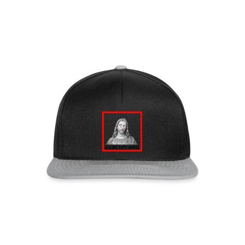 Crucify God | Sad Jesus - Snapback Cap