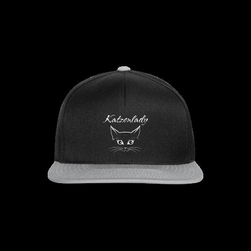 Katzen T-Shirt - Katzenlady - Snapback Cap