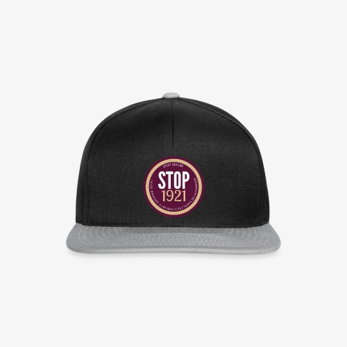 STOP1921 - Casquette snapback