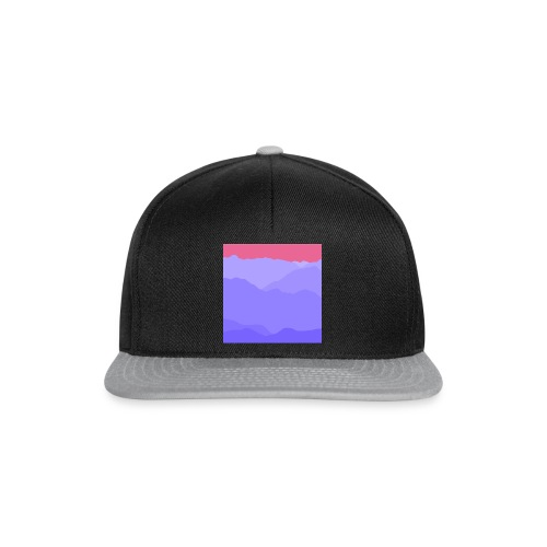 mountain four - Snapback Cap