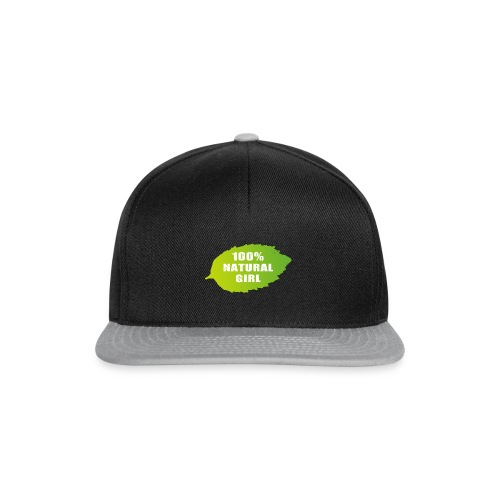 100% natural girl - Snapback Cap