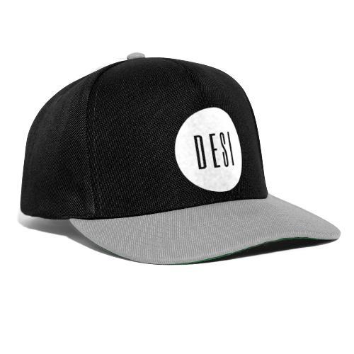 DESI BRAND (white) - Snapback Cap