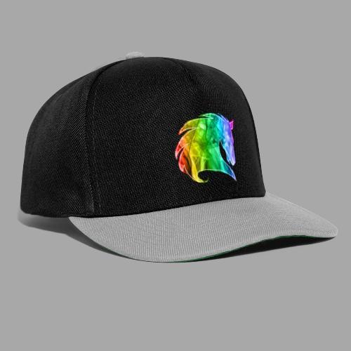 Rainbow Horse - Snapback Cap