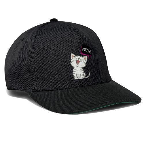 Cat meow - Snapback Cap