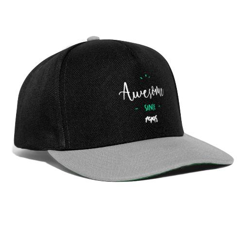 Awesome since 1998- - Casquette snapback