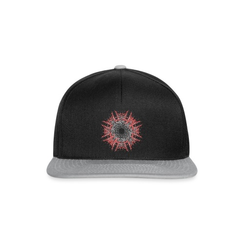 roter stern - Snapback Cap