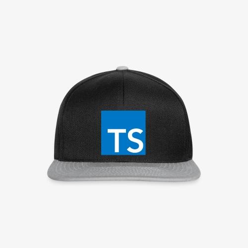 TypeScript Logo - Snapback Cap