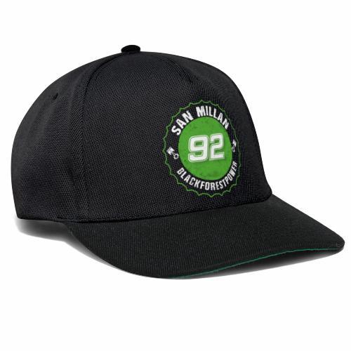 San Millan Blackforestpower 92 rund - Snapback Cap