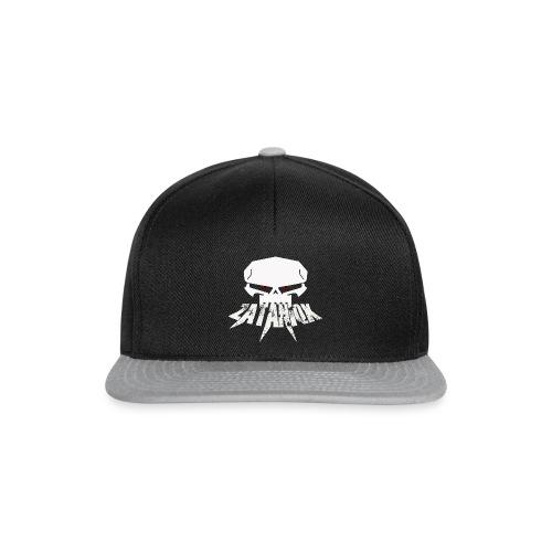 Zataniqx White - Snapback Cap