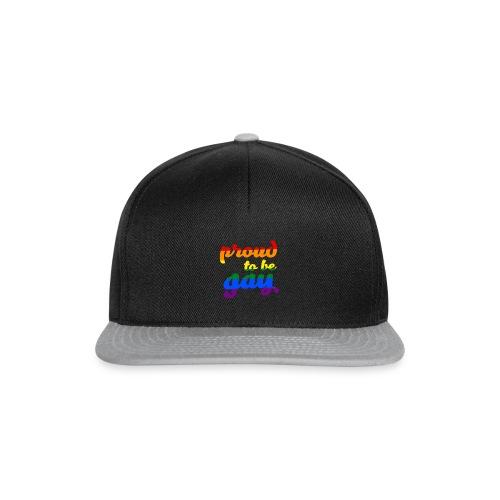 Stolz darauf, schwule LGBTQ-Unterstützung zu sein - Snapback Cap