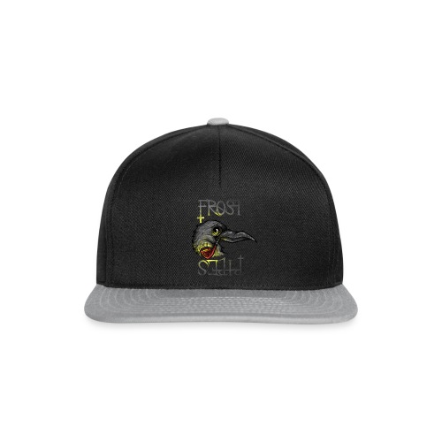 Frost Pipes Crow - Snapback Cap