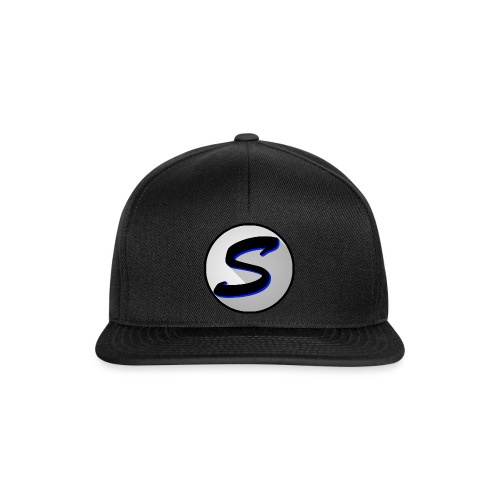 SPEAK UP logo, round w/ stroke - Snapback Cap