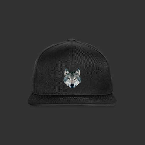 Loup LowPoly - Casquette snapback