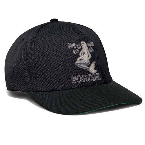 Meerjungfrau Bring mich an die Nordsee - Snapback Cap