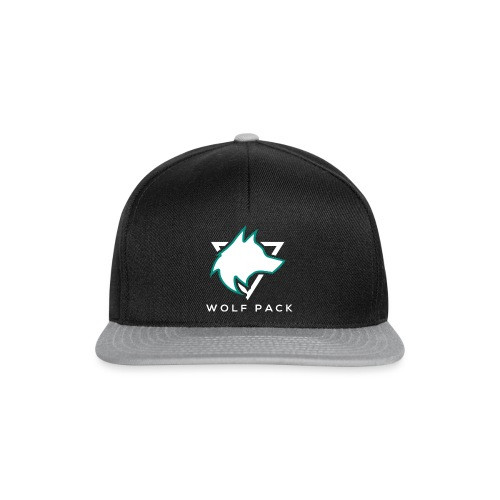 Wolf Pack Logo (NEW) - Snapback Cap