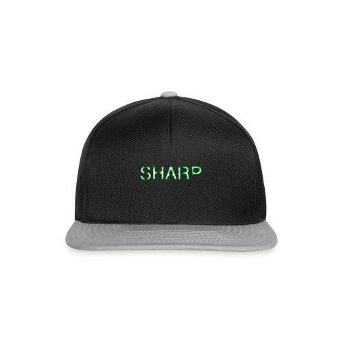 Sharp Clan black hoodie - Snapback Cap