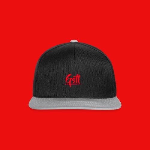 Gstl Red Logo - Snapback Cap