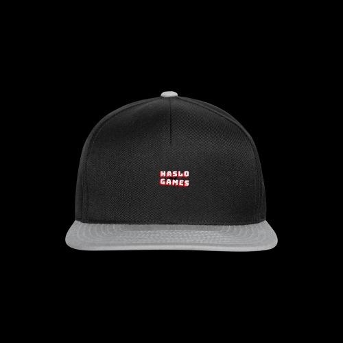 NEW HASLOGAMES LOGO - Snapback cap