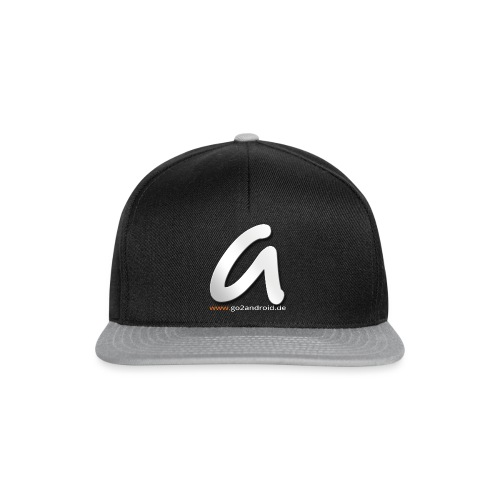 a_logo_big_with_www - Snapback Cap