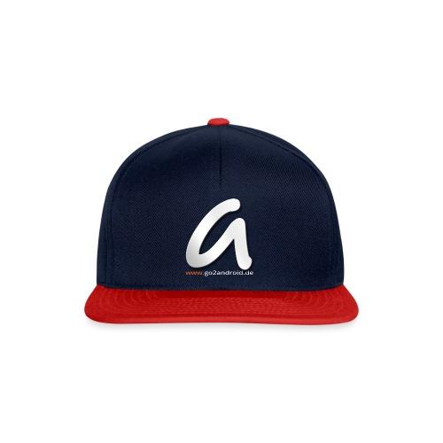 a_logo_big_with_www - Snapback Cap