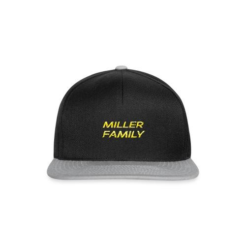 Miller Family - Snapback Cap