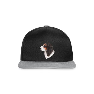 bassethound color - Snapback Cap