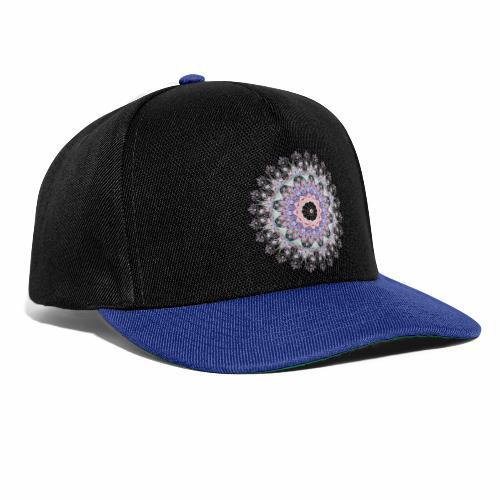 Hvid mandala - Snapback Cap