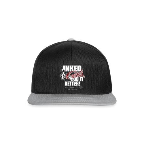 inked girls do it better - Snapback Cap