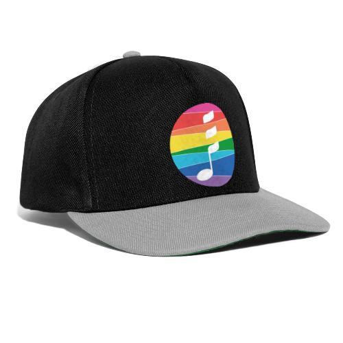 Rainbow Note - Snapback Cap
