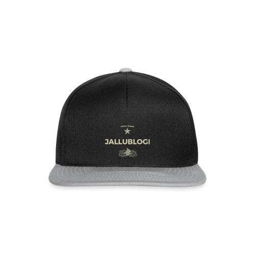 Jallublogi muki musta - Snapback Cap