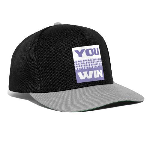 you win 29 - Snapback Cap