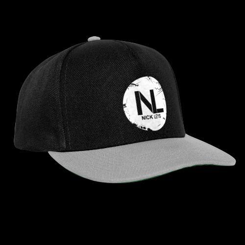 White Nick Leys Logo Rund - Snapback Cap