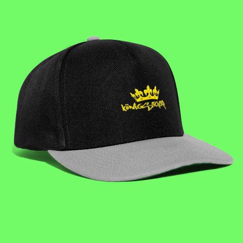 Königstochter m. Krone über der stylischen Schrift - Snapback Cap